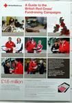 Poster produced by the Fundraising Division of the British Red Cross to advertise Fundraising Campaigns in 2005.