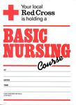 poster advertising a Basic Nursing Course