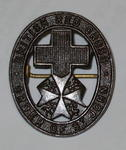 Joint War Committee hat badge (brown coloured)