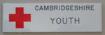 Plastic Ralform identification badge with emblem: CAMBRIDGESHIRE YOUTH