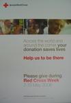 poster advertising Red Cross Week 7-13 May 2006