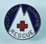 Scottish Mountain Rescue badge