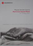 Red Cross Appeal Week poster.