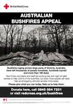 Australian Bushfires Appeal poster (UK version)