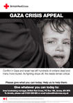 Gaza Crisis Appeal poster (Jersey version)