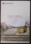 Red Cross Appeal Week poster, 2009