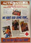 poster advertising adventure holidays for handicapped young people