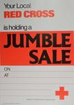 general poster for advertising a jumble sale