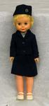 female doll dressed in Red Cross uniform of Canadian Red Cross