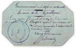 handwritten pass (ticket)