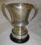 competition cup: Presented to the Isle of Wight Branch BRCS in memory of M.I. Waistell 1928