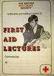 poster advertising first aid lectures