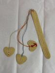 String bookmark made in Liebenau