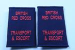 British Red Cross uniform epaulette