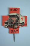 British Red Cross fundraising flag