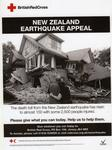 New Zealand Earthquake Appeal poster