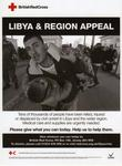 Libya and Region Appeal poster