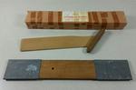 Set of wooden splints