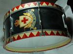 bass drum and mallett