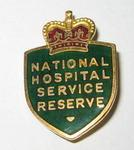 National Hospital Service Reserve badge