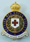10 Year Service badge