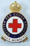 Life Membership badge with certificate