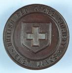 Membership badge: British Red Cross Society East Lancs