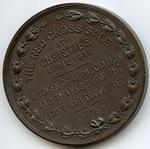 Medal presented by Joint War Committee to commemorate The Red Cross Sale held at Christie's, 1915