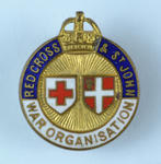Joint War Organisation badge