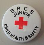 Junior Qualification button badges: BRCS Junior Child Health & Safety