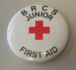 Junior Qualification button badges: BRCS Junior First Aid