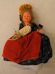 Doll dressed in national cosutme of Spain/Portugal