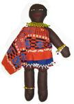 cloth doll from Swaziland