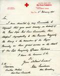 Letter to 'Sir' from J. Fairbairn on the death of Queen Victoria, 6 February 1901
