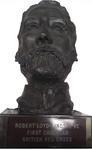 Sculpted head of Loyd Lindsay