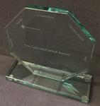 The Lady McCorkell Award shield