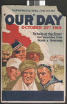 Fundraising poster produced by the British Red Cross Society and the Order of St John to publicise the 'Our Day' collection, October 21st 1915