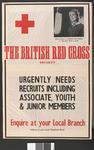 British Red Cross Society recruitment poster