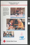 Set of five large laminated posters illustrating the work of the BRC: Hospital Services and Community Care