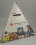 Triangular cardboard collecting box