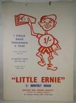 'Little Ernie' monthly draw promotional poster
