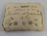 Lavender bag made from linen owned by the Duchess of Devonshire