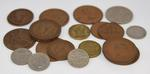 Collection of 22 pre-decimal currency coins 1910-1966