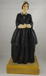 Plaster and wax statuette of Florence Nightingale