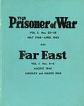 The Prisoner of War Vol 3. Nos. 25-36 and Far East Vol 1 Nos. 4-6