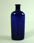 Glass poison bottle