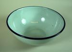 Enamel kidney bowl by Kockums of Sweden