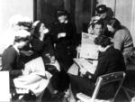 Group of female British Red Cross VADs
