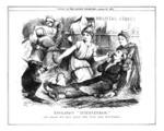 Punch cartoon of 'England's Intervention'