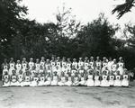 Group of Surrey/190 Officers and Members at the Reigate Red Cross Hall